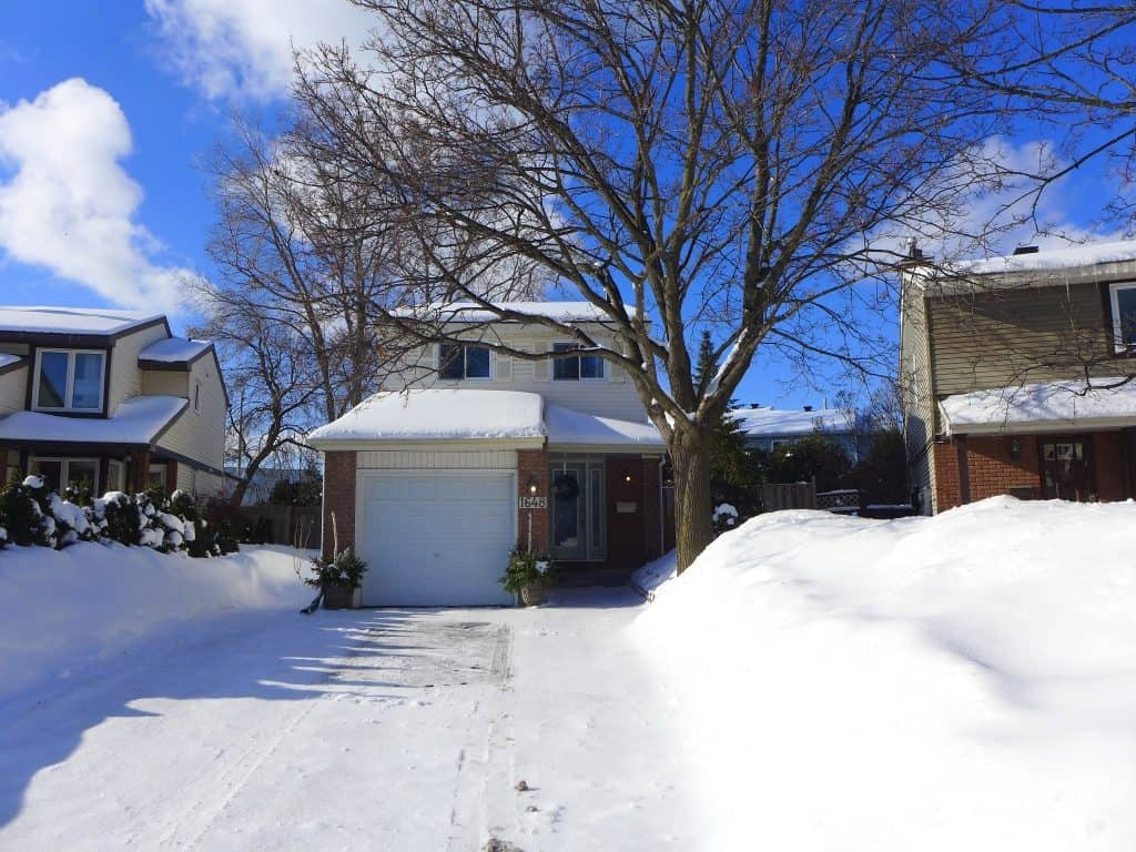 1648 Saxony Crescent Ottawa 3 bedroom detached home for sale
