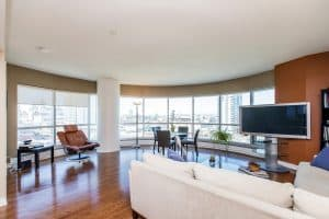 904-200 Rideau Street luxury two bed with views of Parliament in downtown Ottawa