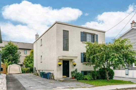 4 Prince Albert Street Ottawa purpose-built triplex investment property