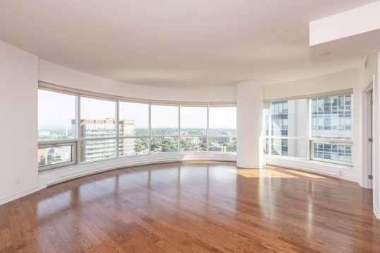 2204-234 Rideau Street 2 bed plus den - Concierge service.
