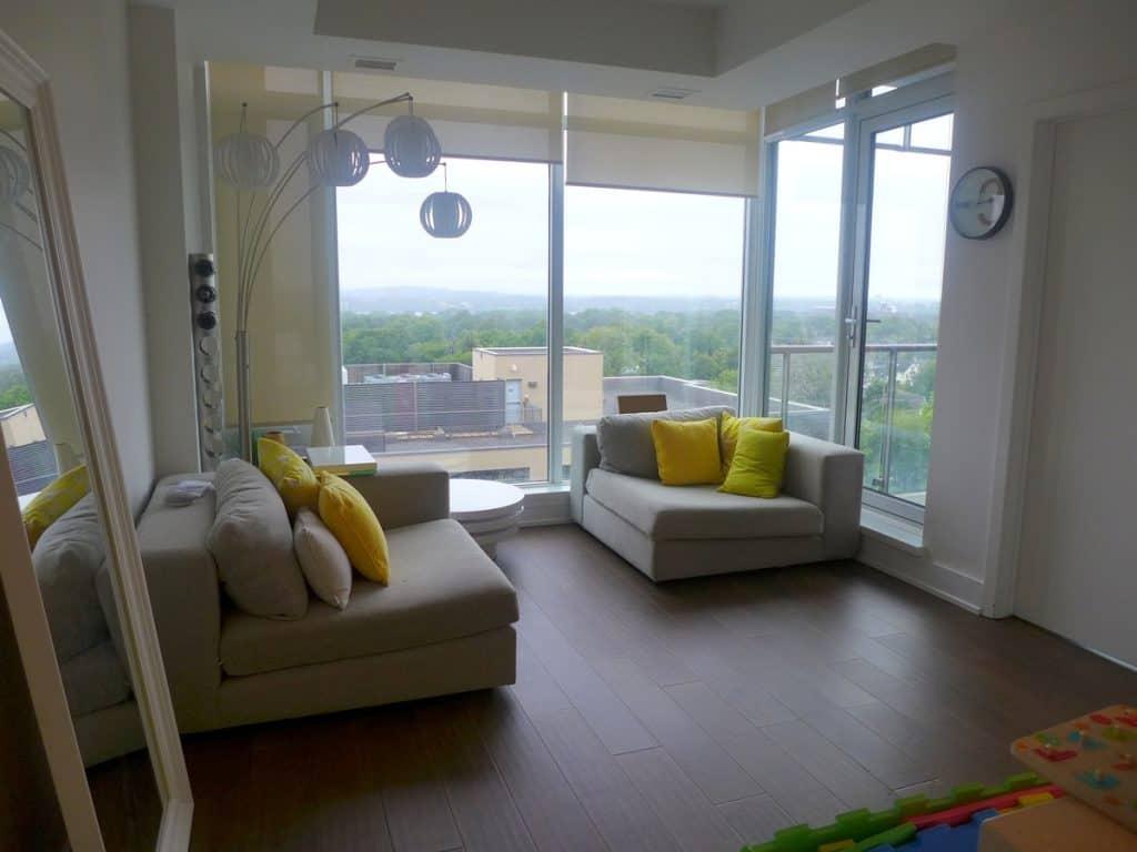 807-98 Richmond Rd Ottawa - Westboro Luxury 2 bed 2 bath with stunning views