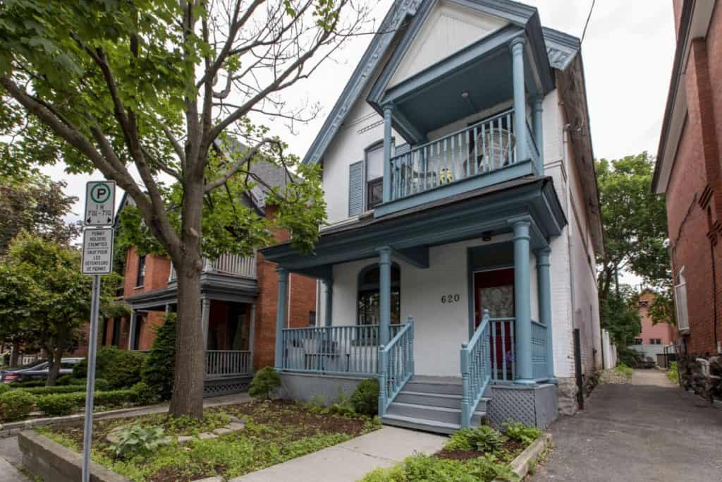 Centretown Victorian 3 Storey Single or Investment Property - 620 Cooper Street Ottawa - For Sale $819,000  --SOLD--