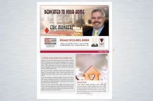 Our Printed Newsletter For Our Clients